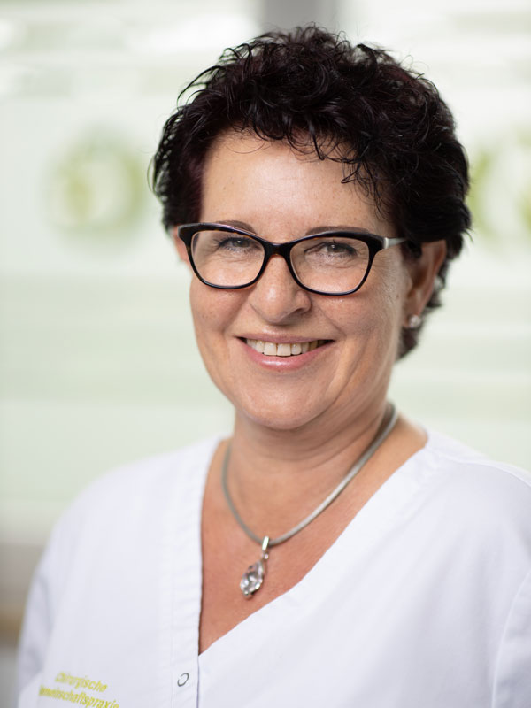 Silvia Spranger MFA in der Chirurgie Germering